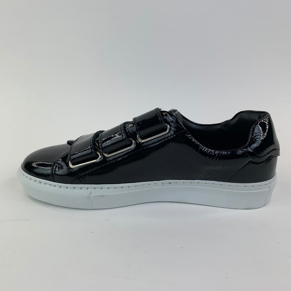 & Other Stories Scratch Strap Leather Sneaker US 7